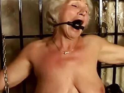 cute asian granny putting on fun pornshow