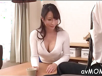 My mom works on me and demand that I fuck the fuck out of her cock