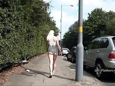 Fine jap blonde teen babe masturbating with vibrator in public
