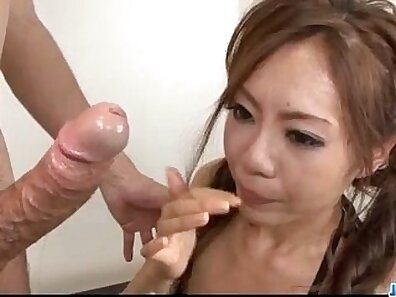 Whore swallows the blow of cocks