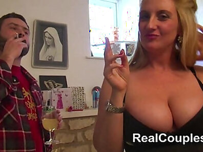British housewife and anal master