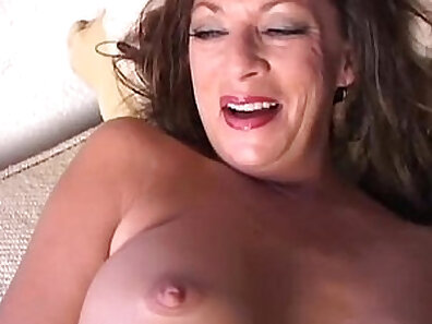 Cutie cougar Ada Angel strips off her clothes and masturbates her pussy