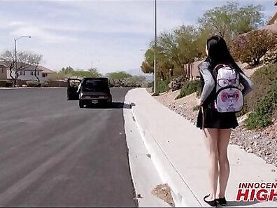 High School Teacher Takes Young Girl In Hard Toilet Revenge