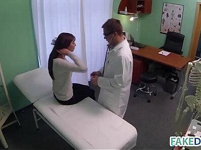 beauty fucks multiple cocks with nurse