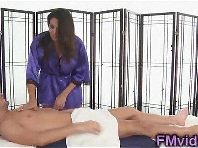 Bisex nuru massage latina plays with two BBCs tight snatch