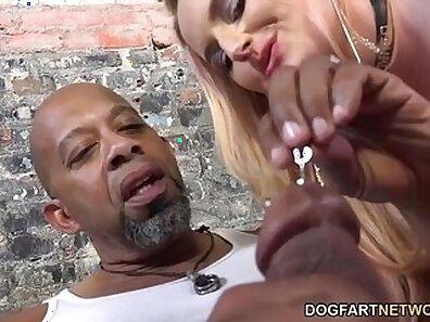Cuckolding big black dude with big dick