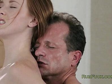 Beautiful Redhead Babe Gets Porn Tutored