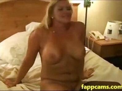 Blonde Slut Gets A Creampie From A BBC
