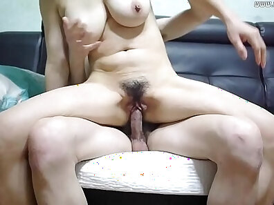 Fisting teasing of mature couple juicy