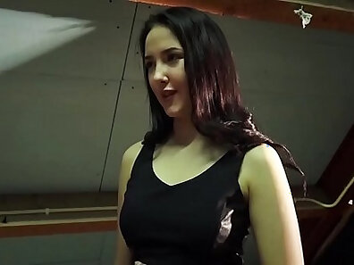 Hot tired sister watching her daddy fuck her pussy
