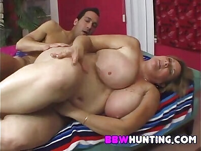 Great sex with hot amateur bbw milf