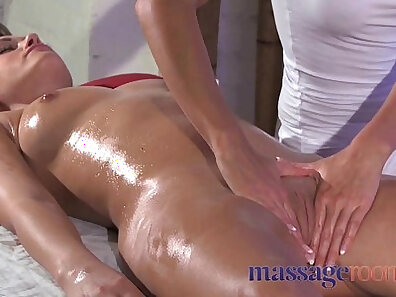 Submissive clit massage and facial and insane speculum orgasms