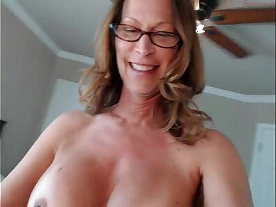 Phoenix Marie is a horny MILF who gets the giver vib with her boobs and ass