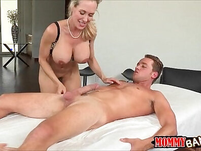 Big tit milf and massage threesome If youre going to be a creepy stalker