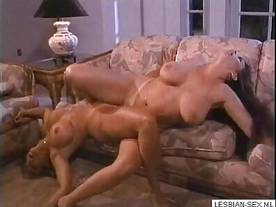 Blonde and brunette lesbians eating each others wet pussies