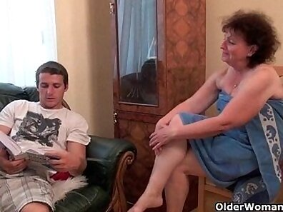 Angry grandma part two small dick He then pokes her nicely