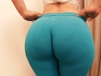 brunette likes a good fuck with her huge ass