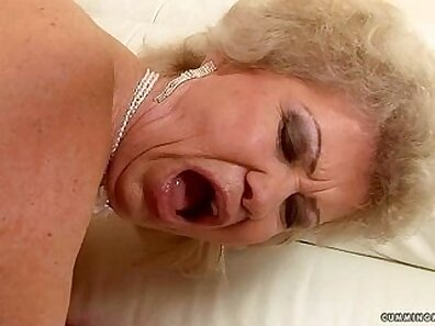 Beautiful busty granny fucked then fucked for cash