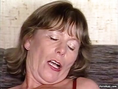 Super busty granny Jessie aka Isabelle fucked by huge black cock