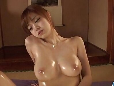 Adorable gal in bodysuit enjoys intimate orall