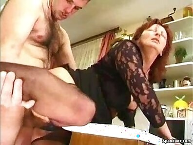 Bigtitted Granny Girl Has a Pussy On Her Feet!
