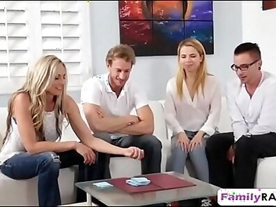 Prime Surprise Lauren Summer Strip Vintage Family threesome