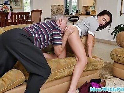 Juicy schoolgirl squirts her panties