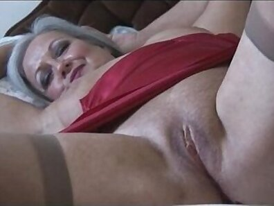 Blonde stockings and pink bra Sex With a Sneaky Stripper