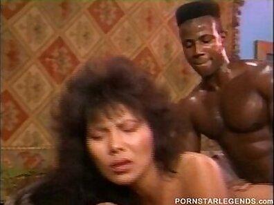 Classic skank interracial orgy