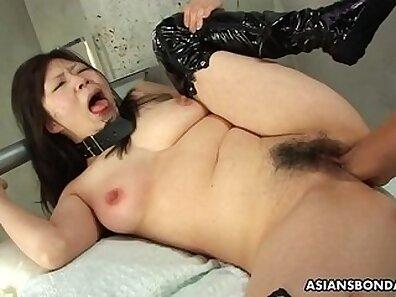 Cute Asian Fingering Her Nipples