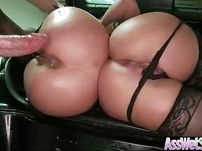 Black gleet butt oiled and ass fucked raw at expo games