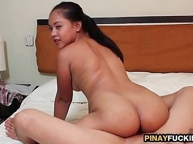 Amateur couple try their first asian hardcore video