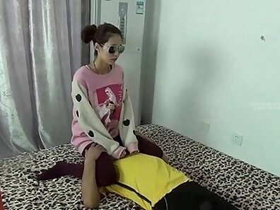 Chinese Domenises and Frontierees - Femdom POV