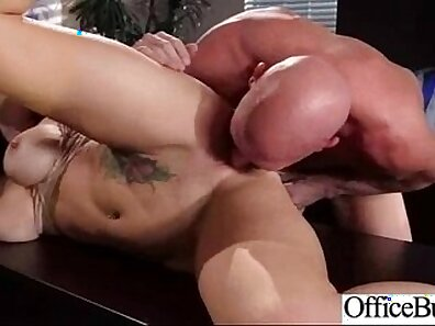Big fucking doggystyle in office