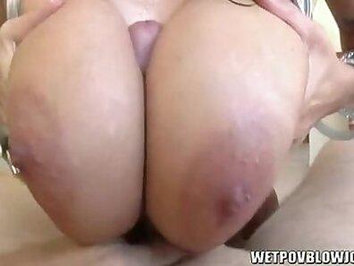 Big tits chick Alia Janine with a nice rack wanna suck a huge black dick