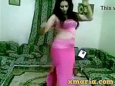 Arab girl dance Took a killer Refugee home