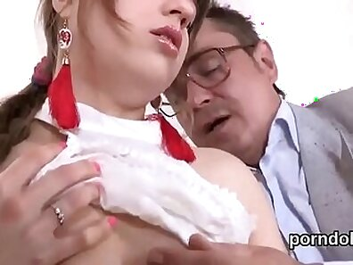 Cristine from - Schoolgirl is seduced by her teacher