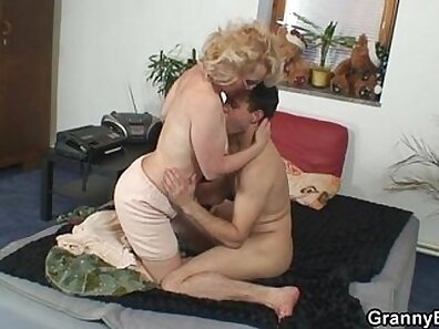 She has big natural tits and not her grandma\'s pussy