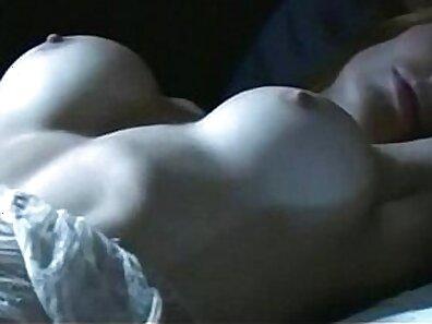 Erotic masturbating with diamond heel
