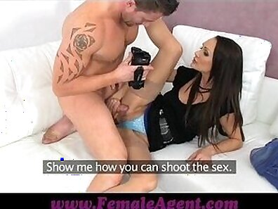 Cock loving fairy likes to cum both times