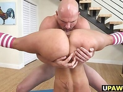 Huge titted chick double drench pounded hard