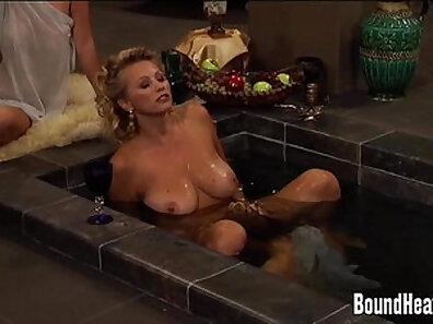 Sexy Sweet Mistress Innocent Cassandra Massages her Slave
