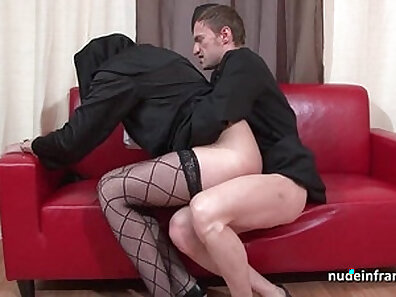 Assfucked excited young german ho takes cumshots