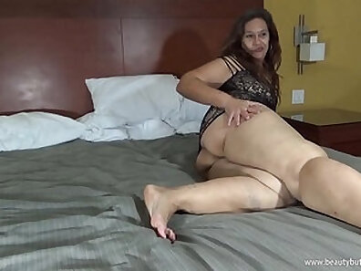 Appetizing inked leggy BBW gets pounded from behind