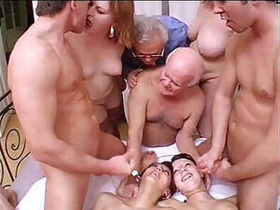 Crazy Family At School Orgy