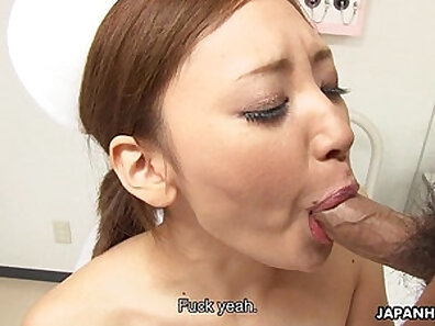 Asian nurse does yoga with a hungman she gives fistjob and lets me do her pussy