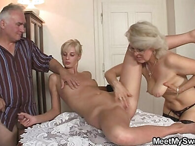 Big tit stepmom fucked with boyfriend while they were at the club