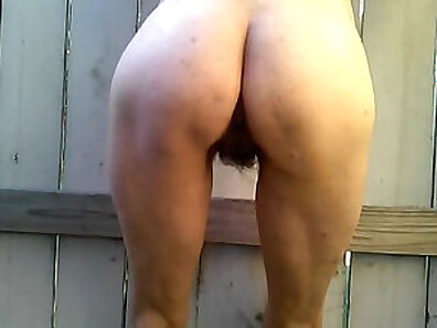 Busty MILF Mai Hairy Rough Outdoor Fun