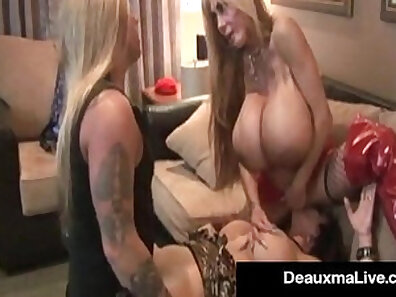 Crazy Cock Driving Cougar Just Can´t Handle