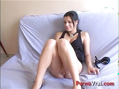 Amateur French Fuck and Creampie